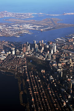 boston massachusetts and logan international airport