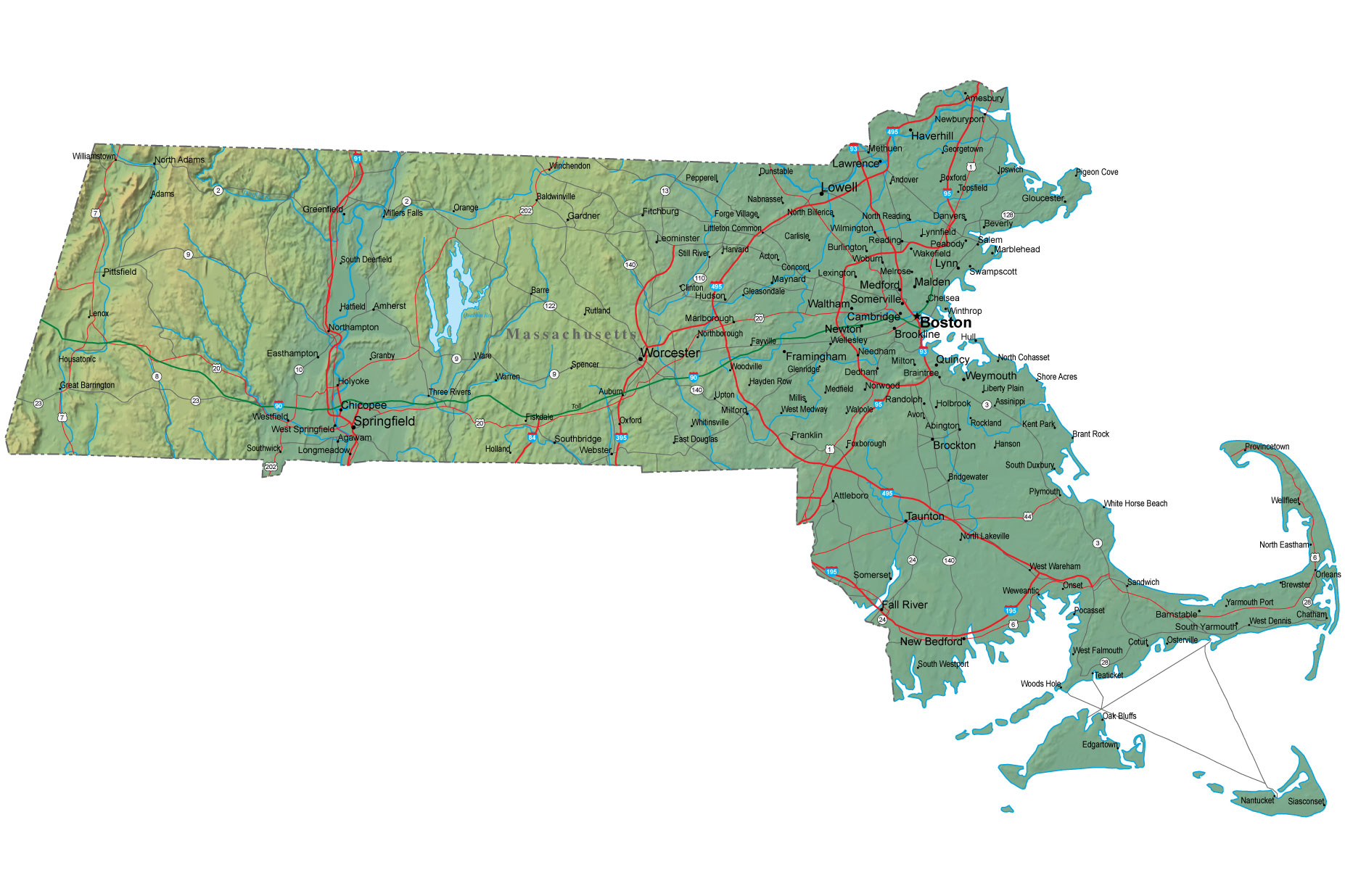 What Are Natural Resources In Massachusetts